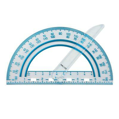 Fiskars Plastic Swing Arm Protractor Set of 1 12-95400J