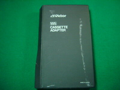 JAPANESE VHS-C TAPE Cassette ADAPTER  VICTOR