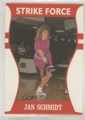 1991 Little Sun Ladies Pro Bowling Tour Strike Force #16 Jan Schmidt Card