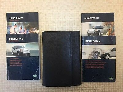 owners manual land rover discovery 3