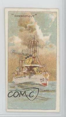 1920 Wills U S Warships Tobacco Capstan Back Connecticut #CONN 2h8