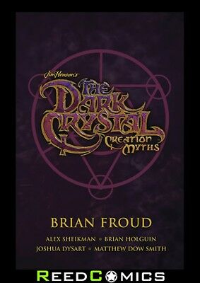 JIM HENSON DARK CRYSTAL SOFTCOVER BOX SET CREATION MYTHS (3 x GRAPHIC NOVELS)
