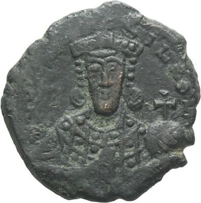 Ancient Byzantine  945-950 CONSTANTINE VII- Large Follis