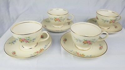 Homer Laughlin Eggshell Georgian set of Tea Cup and Saucer great condition china