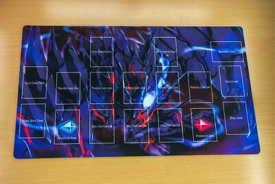F2229+ Free Mat Bag Yugioh Playmat Red-Eyes Zombie Dragon With Zones