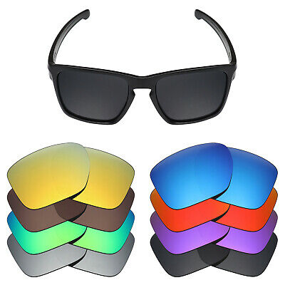 Mryok Anti-Scratch Polarized Replacement Lenses for-Oakley Sliver XL Sunglass