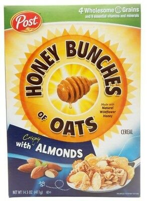 Post Honey Bunches of OATS Cereal Coupon (Five FREE BOXES)