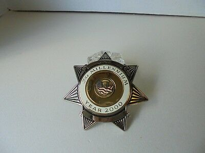 Blackinton The Millennium Seven Point Star Sample Badge