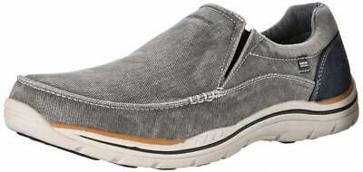 917c5da6b6ac0 Skechers Expected Avillo Relaxed-Fit Men's Canvas Slip-On Loafer Shoes  Casual