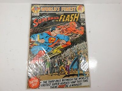 Worlds Finest Comics Superman and The Flash No. 198 The third race