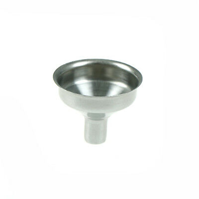 8mm Stainless Steel Funnel Filler For Most Hip Flask Wine Whisky Pot Wide Mouth;