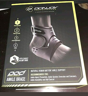 DonJoy Performance Ankle Brace LARGE Right Foot BLOWOUT SALE MSRP $79.99 NWOB