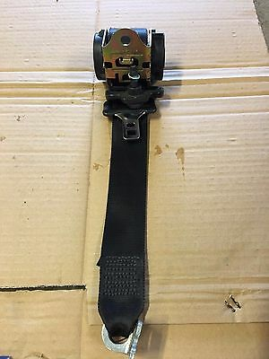 Ford Fiesta MK6 Passenger Nearside Left Rear Seat Belt Seatbelt Black 2S6AA611B6