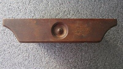 Small Antique Treadle Sewing Machine Swing Out Center Drawer