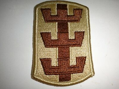 US Army 130th Medical Brigade Full Color Merrowed Edge Patch