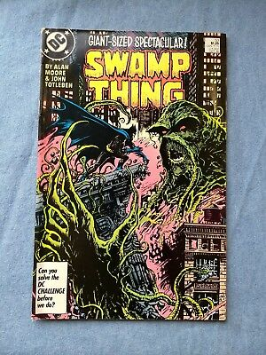 Swamp Thing 53 F 1986 Moore/totleben Batman 'garden' Giant  +Halloween Sale+