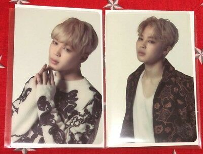 BTS JIMIN 3rd army WINGS Seoul Transparent photocard SET official photo card