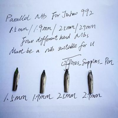 Parallel italic 0.5/1.1/1.5/1.9/2.5/2.9 MM Nib For Jinhao 992 991 shark 150