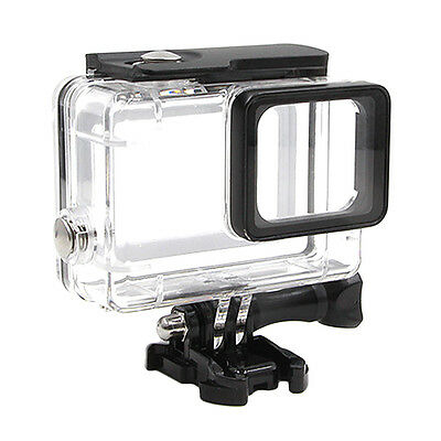For Gopro Hero 5 Underwater Waterproof Dive Case Housing Transparent Stand 45 m
