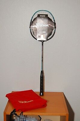 NEW WILSON Recon PX7600 Power Series Badminton Racquet Racket w/ bag