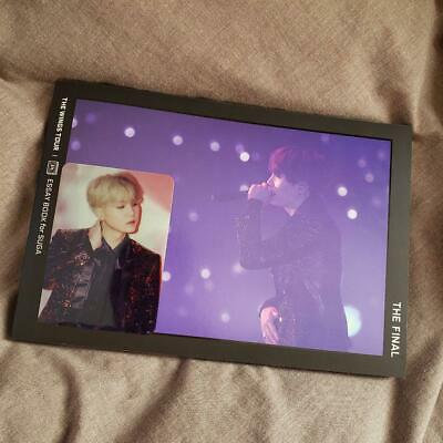 BTS SUGA  WINGS TOUR THE FINAL Official ESSAY BOOK photobook photocard