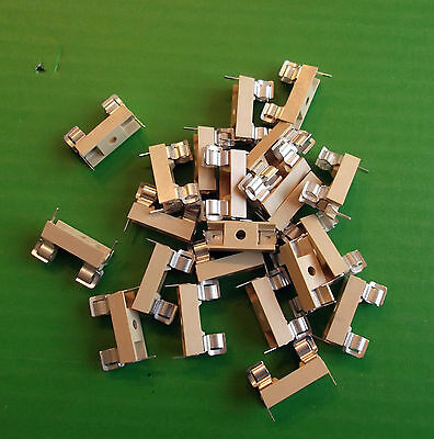 FUSE HOLDER 5 x 20 mm PCB/Solder CFH02 Fuseholder x 25pcs @ £0.10p each ONO