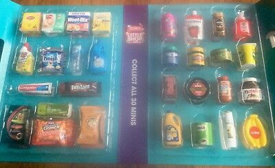 Brand New Coles Little Shop Mini Full Set With Apron & Shopping Bag
