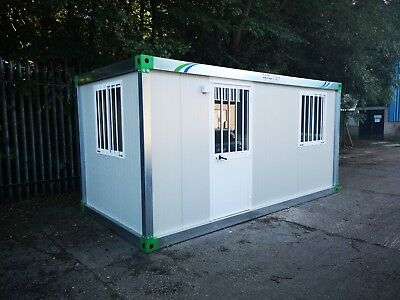 New Portable Building Modular Office 16Ft x 8Ft Insulated High Quaiity