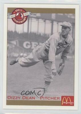 1992 Pacific McDonald's St Louis Cardinals 100th Anniversary #15 Dizzy Dean St.
