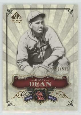 2006 SP Legendary Cuts #183 Dizzy Dean St. Louis Cardinals Baseball Card