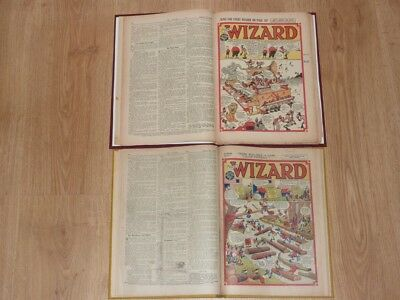 The Wizard Comics - 3rd Jan to 18th Dec 1948 - Full Year 2 Bound Volumes
