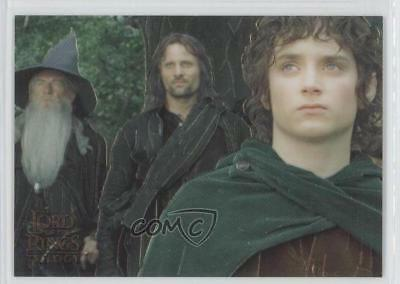 2004 Topps Chrome The Lord of the Rings Trilogy #P1 Frodo Aragorn Gandalf 0i1