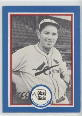 1976 Shakey's Baseball's Hall of Fame #63 Dizzy Dean St. Louis Cardinals Card