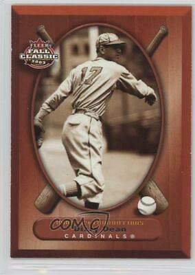 2003 Fleer Fall Classic #64 Dizzy Dean St. Louis Cardinals Baseball Card