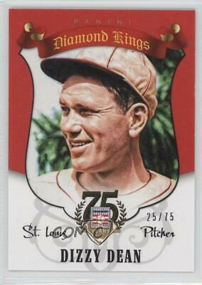 2014 Panini Hall of Fame Diamond Kings Red #25 Dizzy Dean St. Louis Cardinals
