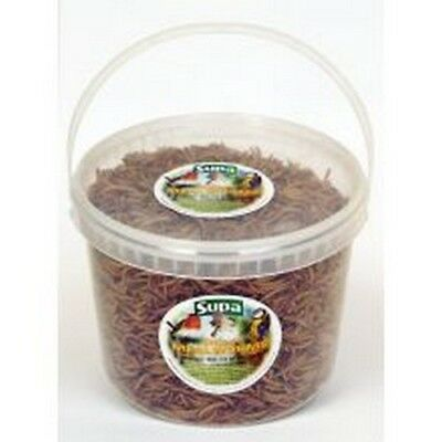 Supa Bucket Of Freeze Dried Mealworms For Birds (BT1123)
