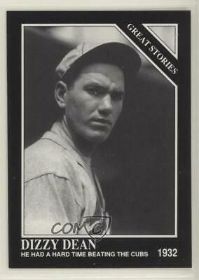 1992 The Sporting News Conlon Collection 428 Dizzy Dean St. Louis Cardinals Card