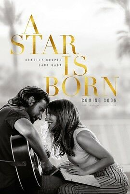 A Star Is Born 2018 Canvas Poster 24x36 inch