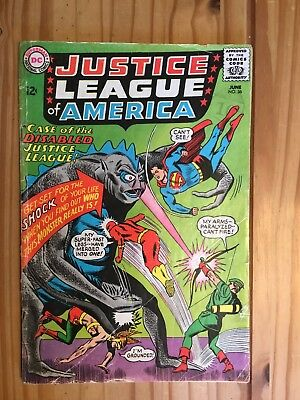 Justice League America #36  DC 1965 Grade GD/VG