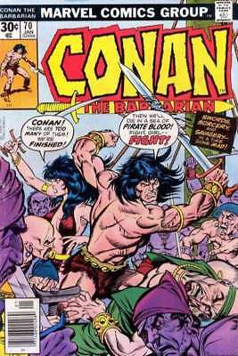 Conan the Barbarian (1970 series) #70 in Very Fine + condition. Marvel comics