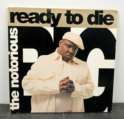 NOTORIOUS B.I.G./BIG Ready to Die RARE PROMO Hip Hop NM Orig. 1995 2-LP w/Poster