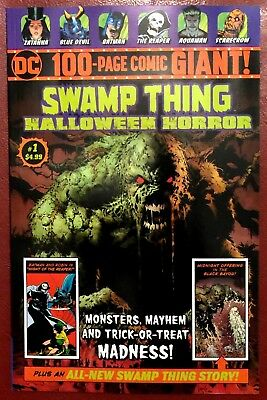 Swamp Thing DC 100-Page Giant Halloween Horror 1 NM Walmart House of Secrets 92