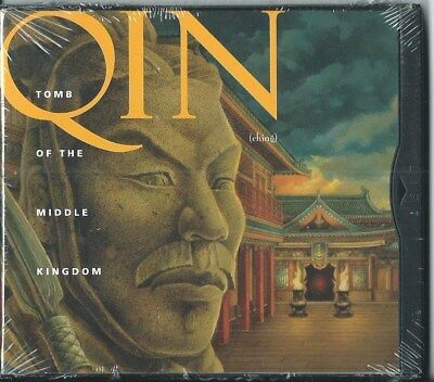 PC GAME - QIN: TOMB OF THE MIDDLE KINGDOM - 1995 Adventure (NEW SEALED)