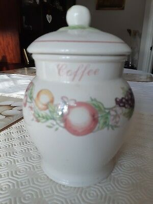Boots Orchard Collection Storage Jar  - Coffee