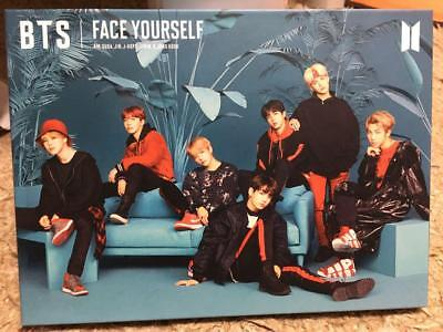 BTS - Face Yourself first Limit edition (C Version) CD booklet Japan F/S