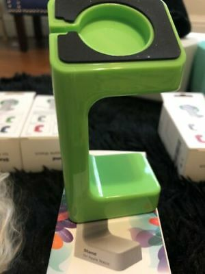 Apple Watch Stand Charger - Stand Only Cord Not Included- Green
