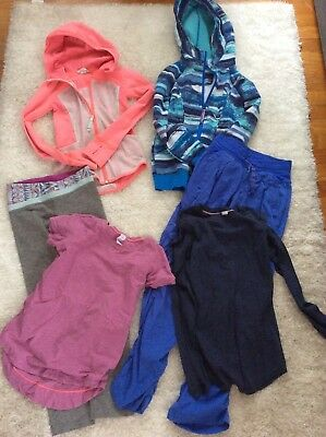 6pc Lot IVIVVA  size 6-8 shirts, Dance pants, Jackets