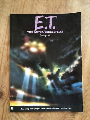 "Original ""e.t. The Extra-Terrestrial"" Movie Film Storybook (1982)"