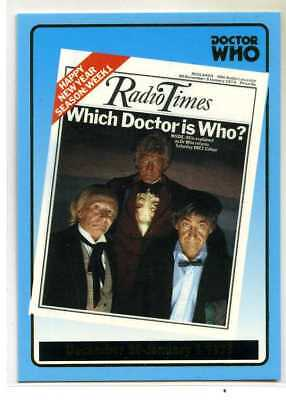Doctor Who Radio Times Cover Card - R10 - Dec 30-Jan 5 1973