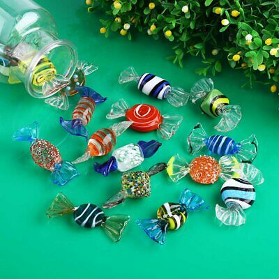 18 X Vintage Murano Glass Sweets Xmas Wedding Gift Party Candy Decorations